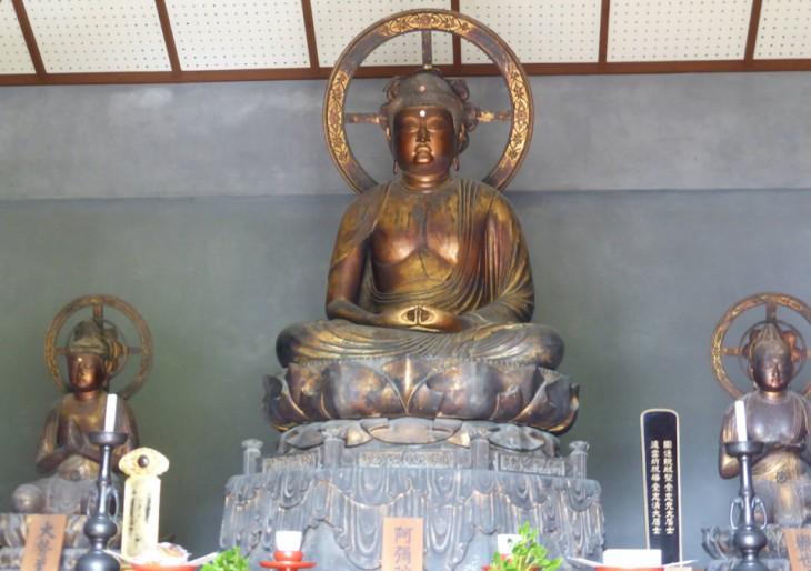 国指定重要文化財 梅之堂三尊仏 一般公開