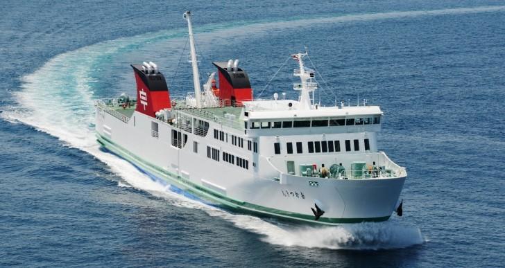 宇和島運輸新造船フェリー「あかつき丸」就航記念イベント