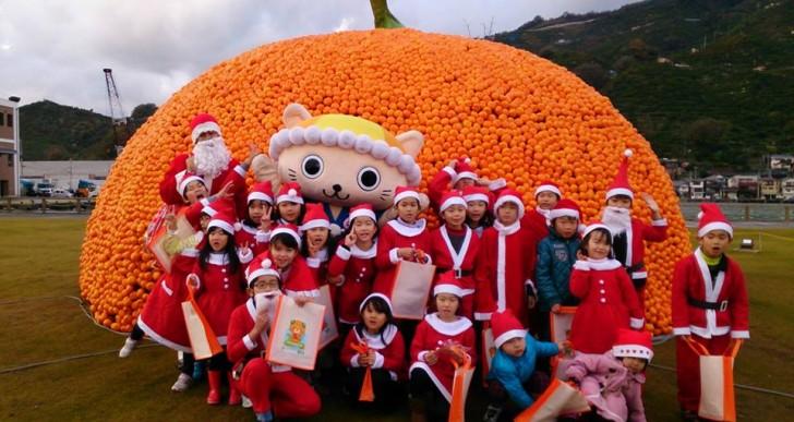 クリスマスオレンジフェスティバル2015 in 八幡浜みなっと