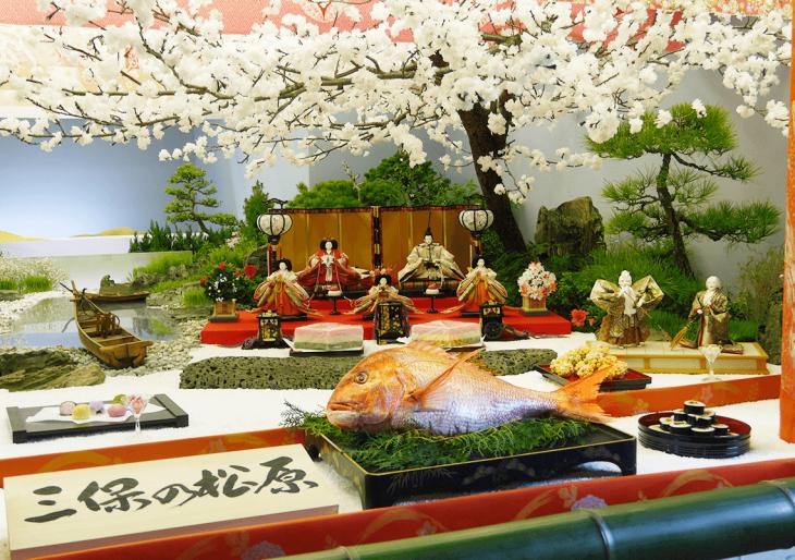 真穴の座敷雛(八幡浜市無形民俗文化財)