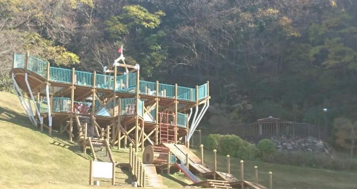 八幡浜市民スポーツパーク ?冒険ゾーン?